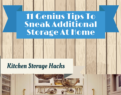 11 Genius Tips To Add More Storage At Home