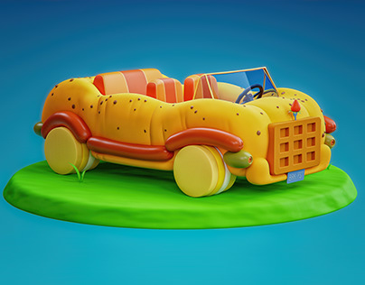 Car from The Adventure Time