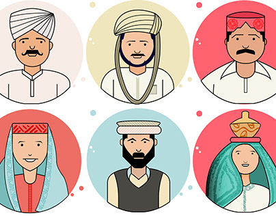 Peoples of Pakistan - Character set