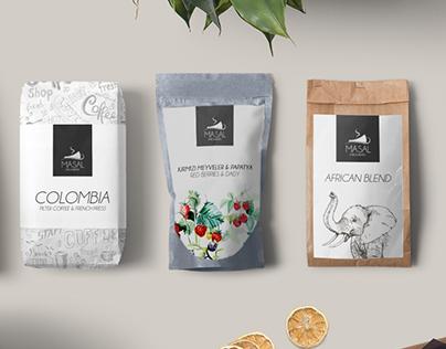 Masal Cafe/Bistro Branding