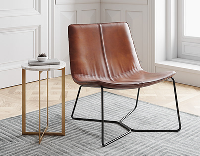 West Elm Slope Lounge Chair