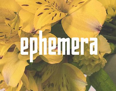 Ephemera Typeface