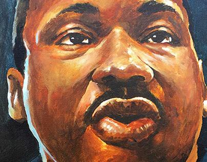 Portraits - Acrylic painting