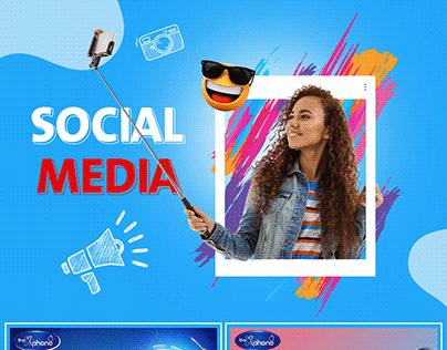 The Xphone Social Media Design
