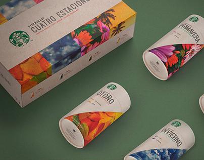 Cuatro Estaciones - Starbucks Packaging