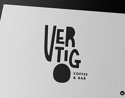 VERTIGO coffee bar / logo & placemat design