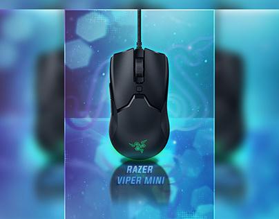 Viper Mini mouse advertisement design.