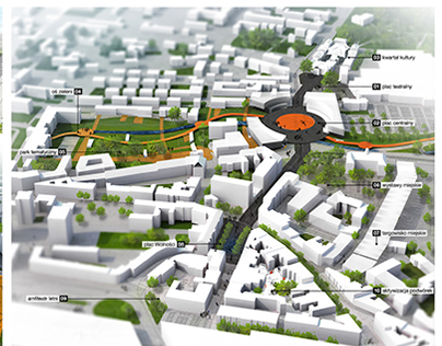 Revitalisation of Zabrze downtown – competition