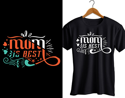 Mothers Day Typography, Vintage t shirt design