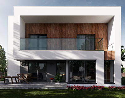 3d visualization / house /