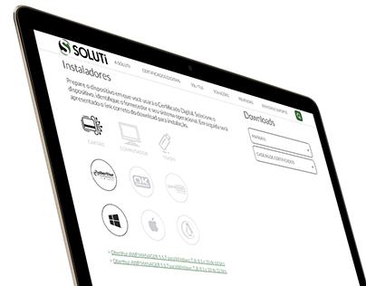 Soluti   Responsive Website