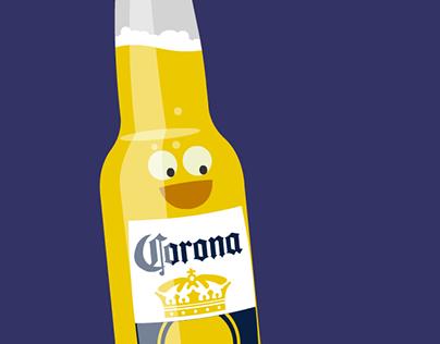 Corona Can't Make Friends