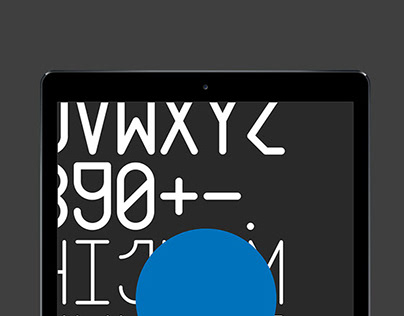 Fuzztura Mono — Custom Typography