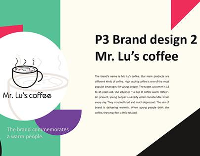 Mr. Lu's coffee