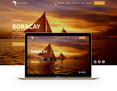 Travel Agency Website (Web Design | Philippines)