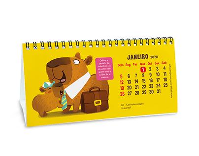 Calendário Ano do Amigo 2020