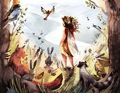 The Little Fairy Raisin Flan