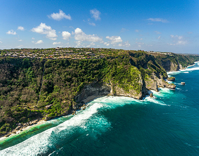 Drone Pictures for Bulgari Resort Bali