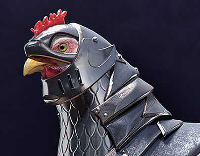 Armored Chicken - CGI