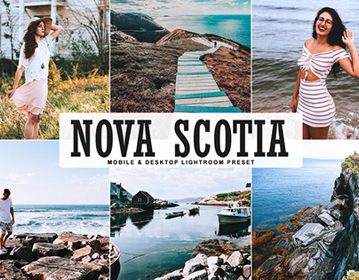 Free Nova Scotia Mobile & Desktop Lightroom Preset