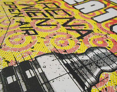 Beatsteaks - Official Gigposter for Arena Wien