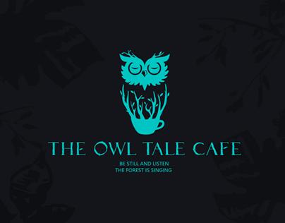 THE OWL CAFE coffee brand catering VI 猫头鹰咖啡餐饮品牌VI设计