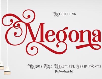Megona | Modern Serif
