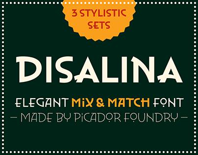 Disalina – elegant Mix&Match typeface.