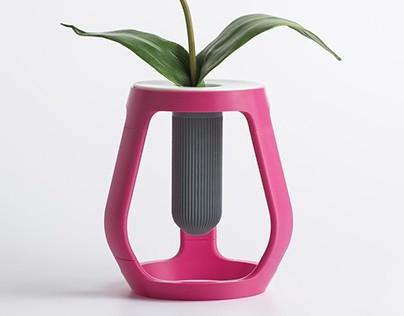 3D Printed - Gravity - Flower vase | Eumakers