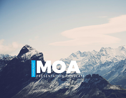 Moa Power Point Presentation Template