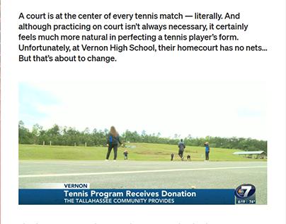 Good news for the Vernon HS tennis team!
