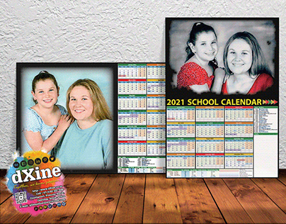 2021 School Term Fridge Calendars A4 or A3
