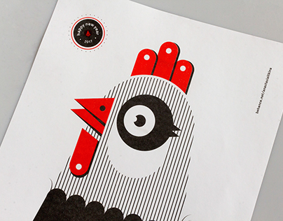 Zodiac Posters: Rooster