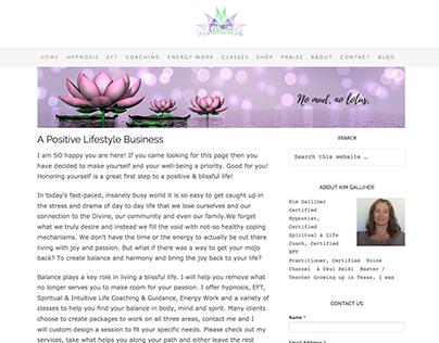 Blissful Life Website