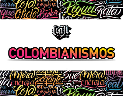 Colombianismos - Lettering Colombiano