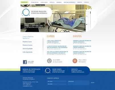 Sociedade Brasileira de Medicina Hiperbárica, web