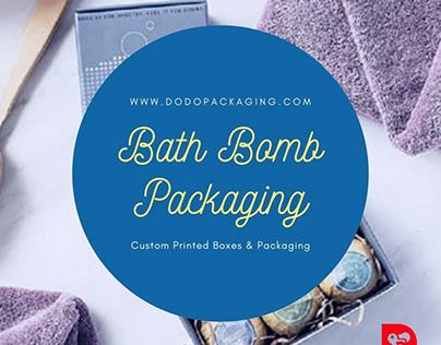 Custom Bath Bomb Boxes | Bath Bombs Packaging