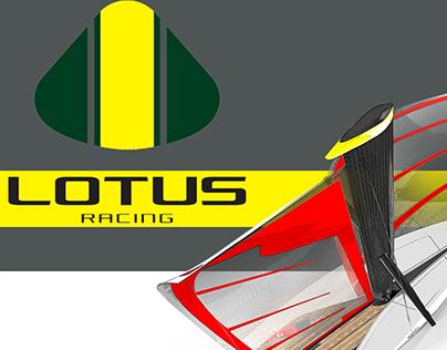 -Lotus racing sailer
