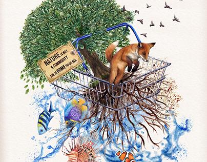 World Nature Conservation Day Artwork
