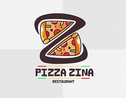 pizza zina Logo