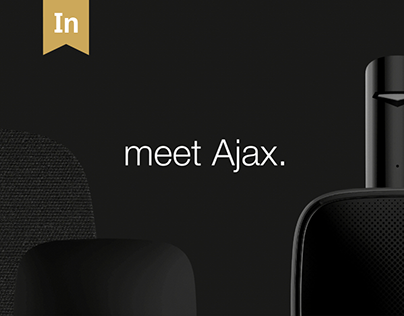 Ajax Brand Site. Interactive Design/User Experience.