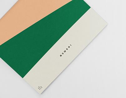 Book Design for QUWAGI Lookbook 21FW