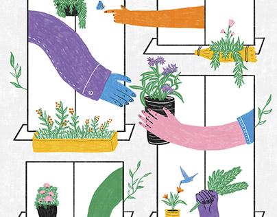 Plantas nativas | Afiche