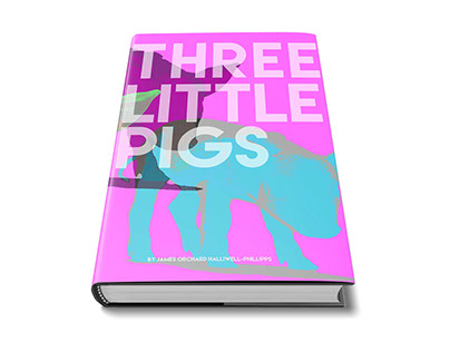 Three Little Pigs Book Cover Rework