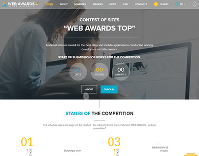 """WEB AWARDS TOP"""