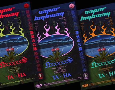 NxxxxxS & Ta-Ha Vapor Highway China Tour