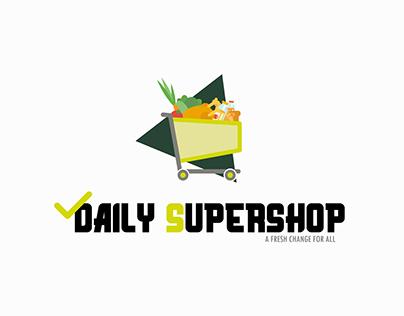 Daily Supershop Logo Design