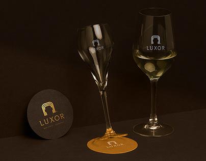 LUXOR BAR CAFE - KARAOKE: Logo & Brand Identity