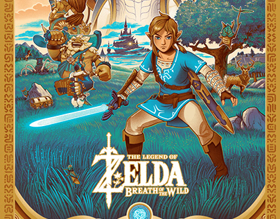 Legend of Zelda Breath of The Wild Tribute