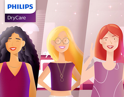 Philips DryCare Tam Saçına Göre!